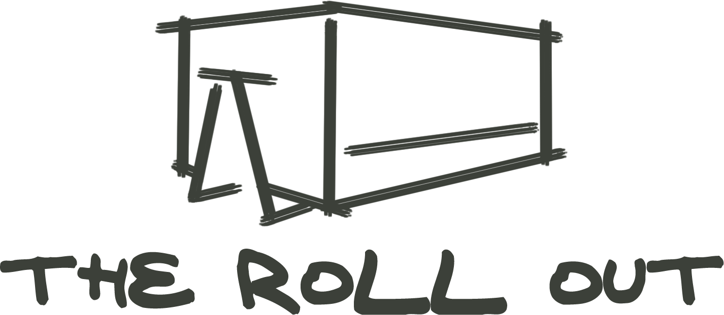 the roll out blog logo